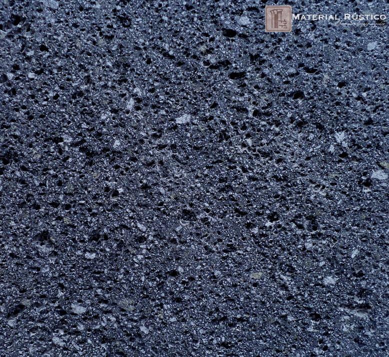 Recinto negro recinto gris poro cerrado y poro abierto for Piedra volcanica